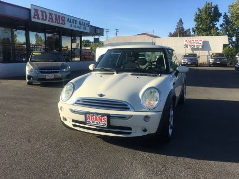 2006 MINI Cooper for sale at Adams Auto Sales in Sacramento CA