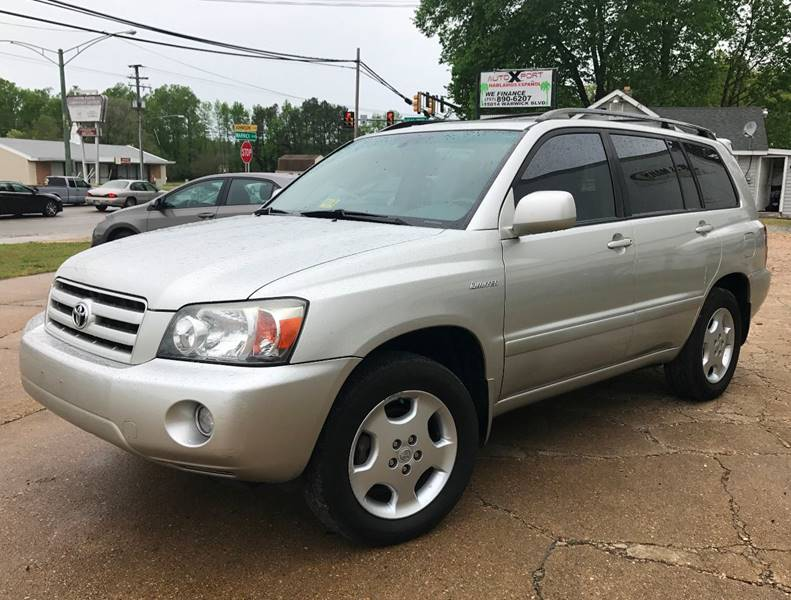 2005 Toyota Highlander AWD Limited 4dr SUV w/3rd Row - Newport News VA