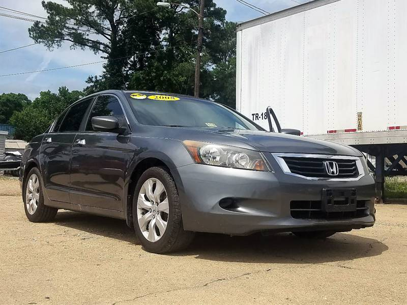 2008 Honda Accord EX-L V6 4dr Sedan 5A - Newport News VA