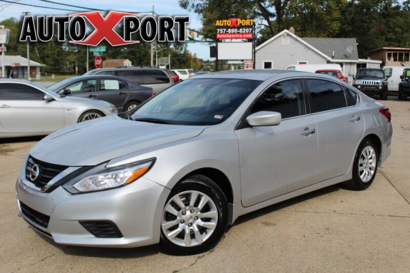 2017 Nissan Altima for sale at Autoxport in Newport News VA
