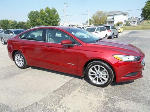 2017 Ford Fusion Hybrid for sale in West Branch IA