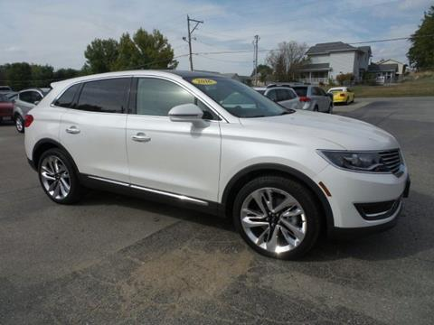 2016 Lincoln MKX for sale in West Branch IA