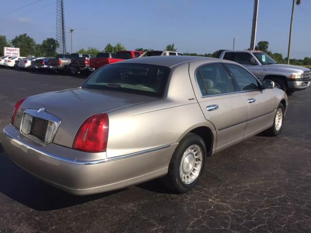 2001 Lincoln Town Car Executive 4dr Sedan In Harviell Mo Sheppards