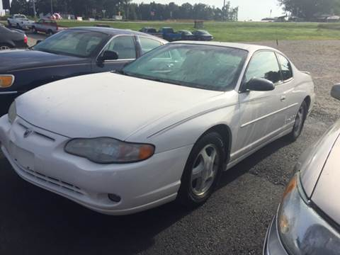2001 Chevrolet Monte Carlo for sale in Harviell, MO
