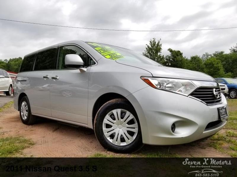 2011 Nissan Quest 35 S 4dr Mini Van In Mongaup Valley Ny Seven X