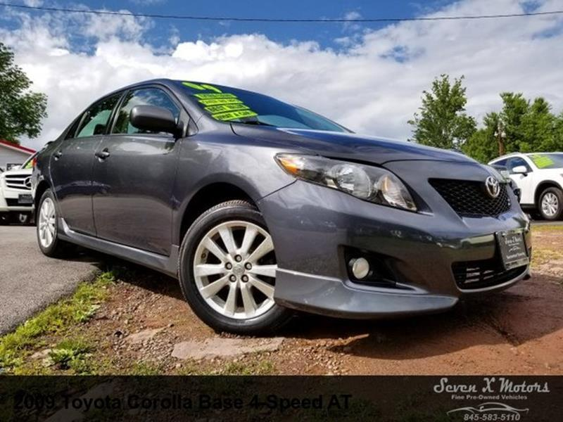 2009 toyota corolla recommended maintenance schedule