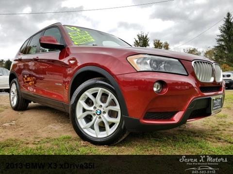 2013 BMW X3 for sale in Mongaup Valley, NY