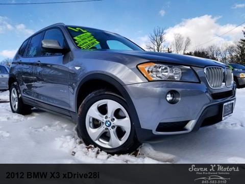 2012 BMW X3 for sale in Mongaup Valley, NY