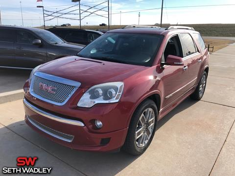 2012 GMC Acadia for sale in Pauls Valley, OK