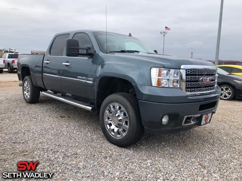 2012 GMC Sierra 2500HD for sale in Pauls Valley, OK