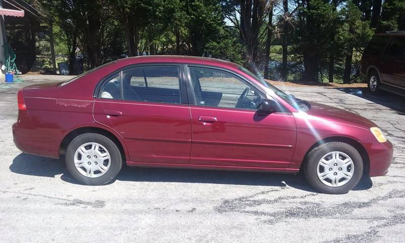 2002 Honda Civic LX 4dr Sedan   Conyers GA