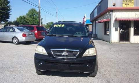 2003 Kia Sorento for sale at FABULOUS AUTO SALES in Conyers GA