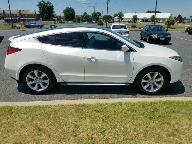 Acura Zdx Sh Awd Suv W Advance Package In Dundalk Md Car