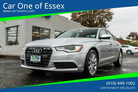 Audi A6 For Sale In Essex Md Car One Of Essex