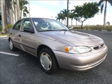 1999 Toyota Corolla for sale in Pompano Beach, FL