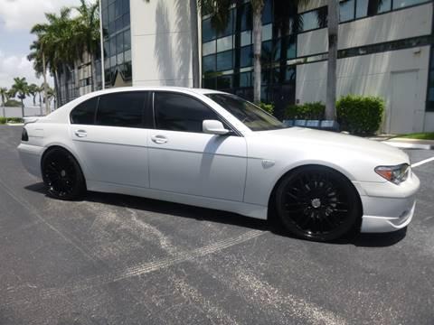2005 BMW 7 Series for sale in Pompano Beach, FL
