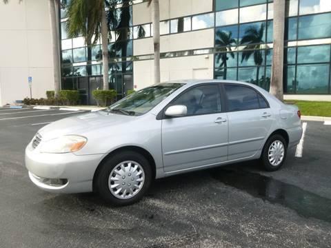 2008 Toyota Corolla for sale in Pompano Beach, FL