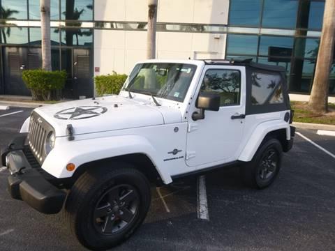 2015 Jeep Wrangler for sale in Pompano Beach, FL