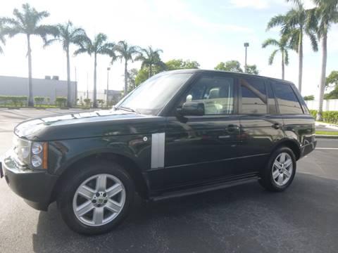 2004 Land Rover Range Rover for sale in Pompano Beach, FL