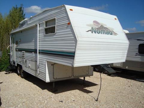 2002 Nomad travel trailer