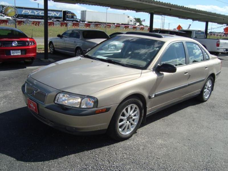 2001 Volvo S80 4dr T6 Turbo Sedan In Buda Tx South Point Auto Sales