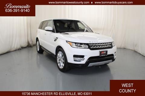 2016 Land Rover Range Rover Sport for sale in Ellisville, MO