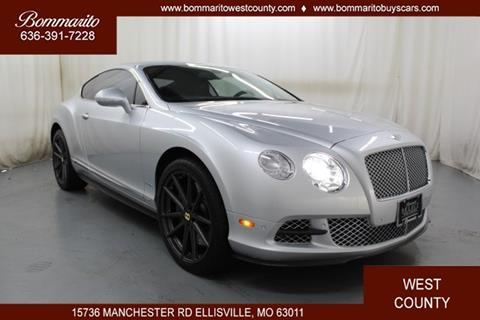 2012 Bentley Continental for sale in Ellisville, MO