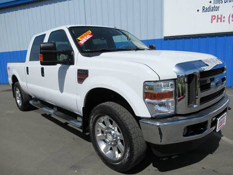 2008 Ford F-250 Super Duty for sale at American Auto Sales in Sacramento CA