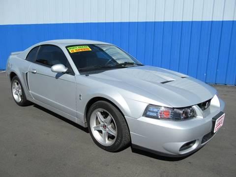 Ford Mustang SVT Cobra For Sale Sacramento CA  Carsforsalecom