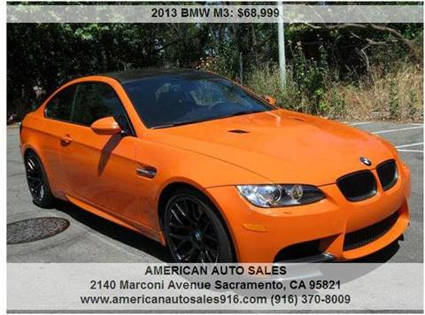 2013 BMW M3 For Sale  Carsforsalecom