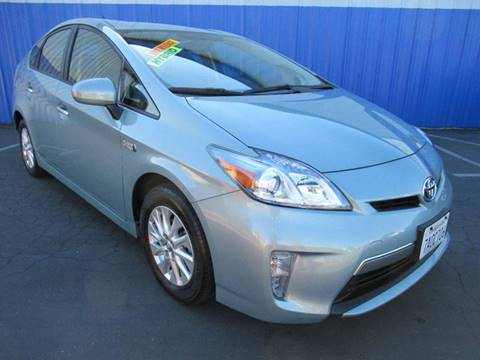 2013 Toyota Prius Plug-in Hybrid for sale at American Auto Sales in Sacramento CA
