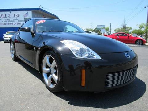 2008 Nissan 350Z for sale at American Auto Sales in Sacramento CA