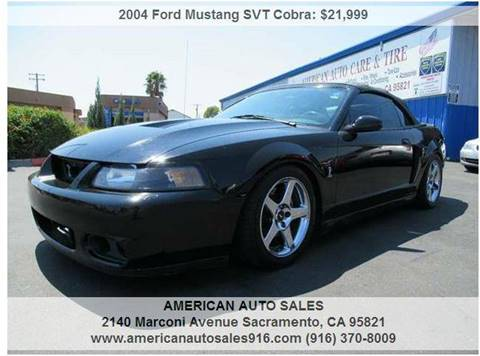 2004 Ford Mustang SVT Cobra for sale in Sacramento, CA