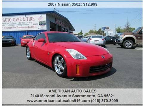 2007 Nissan 350Z for sale in Sacramento, CA