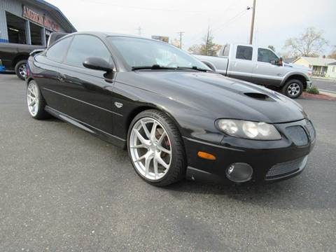 2006 Pontiac GTO for sale at American Auto Sales in Sacramento CA
