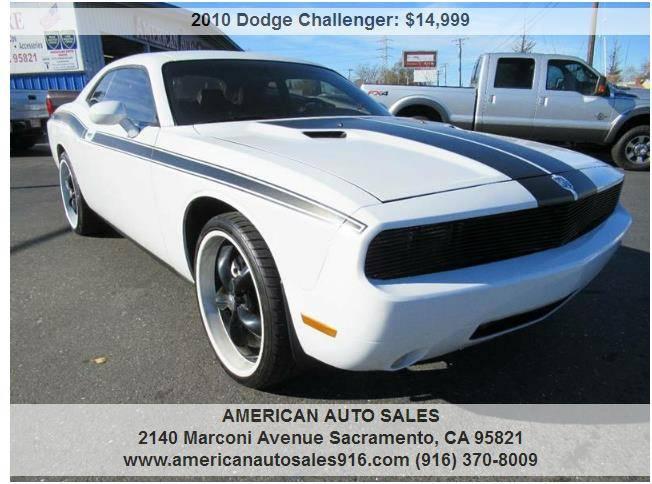 2010 Dodge Challenger For Sale >> 2010 Dodge Challenger R T American Auto Sales