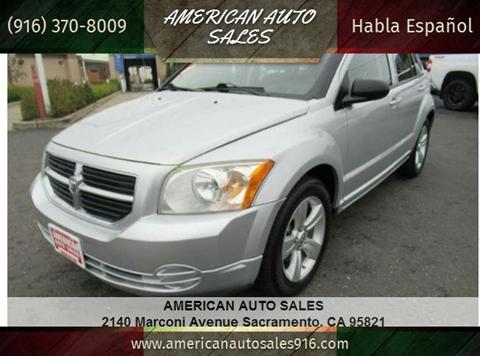 2010 Dodge Caliber for sale at American Auto Sales in Sacramento CA