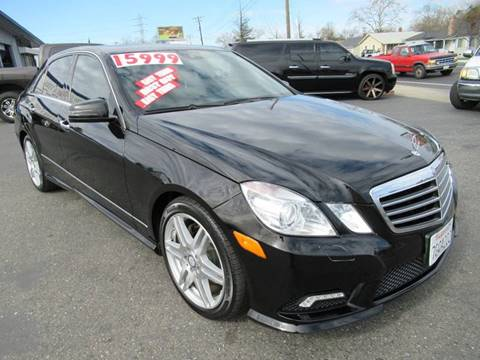 2010 Mercedes-Benz E-Class for sale at American Auto Sales in Sacramento CA