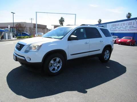2010 GMC Acadia for sale at American Auto Sales in Sacramento CA