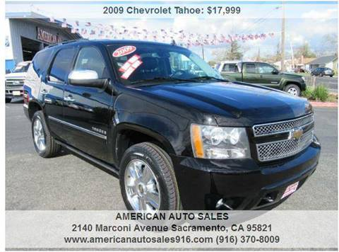 2009 Chevrolet Tahoe for sale at American Auto Sales in Sacramento CA