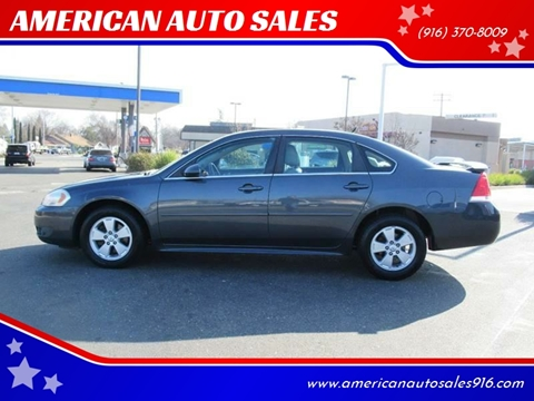 2010 Chevrolet Impala for sale at American Auto Sales in Sacramento CA