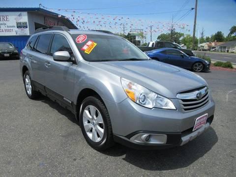 2011 Subaru Outback for sale at American Auto Sales in Sacramento CA