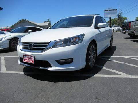 2015 Honda Accord for sale at American Auto Sales in Sacramento CA