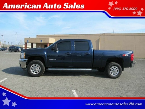 2011 Chevrolet Silverado 2500HD for sale at American Auto Sales in Sacramento CA