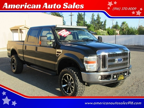 2008 Ford F-350 Super Duty for sale at American Auto Sales in Sacramento CA