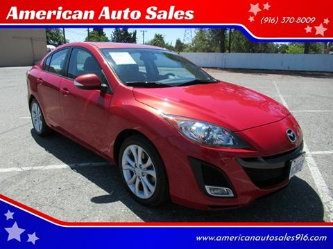 2010 Mazda MAZDA3 for sale at American Auto Sales in Sacramento CA