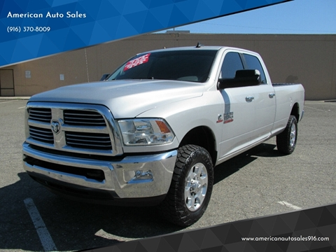 2016 RAM Ram Pickup 3500 for sale at American Auto Sales in Sacramento CA