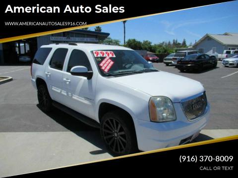 2007 GMC Yukon for sale at American Auto Sales in Sacramento CA
