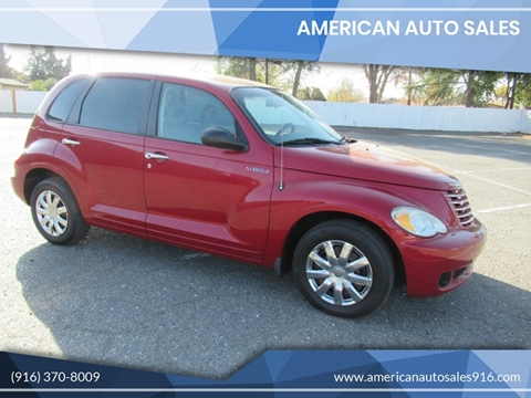 2006 Chrysler PT Cruiser for sale at American Auto Sales in Sacramento CA