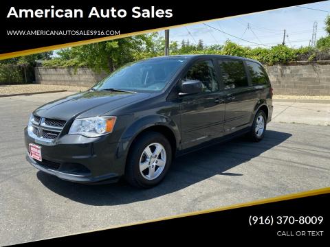 2011 Dodge Grand Caravan for sale at American Auto Sales in Sacramento CA